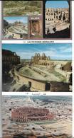 3060i: 10 AKs Tunesien- El Jem, Römische Ausgrabungen, Ungelaufen, Folder - Geschichte