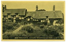 STRATFORD UPON AVON : ANNE HATHAWAY'S COTTAGE - Stratford Upon Avon
