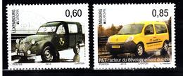 Luxemburg 2013 Mi Nr  1969 + 1970 : Europa Postauto - Gebruikt