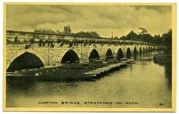 STRATFORD UPON AVON : CLOPTON BRIDGE - Stratford Upon Avon