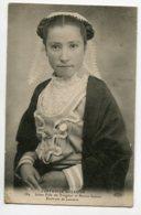 22 LANNION Environs Jeune Fille De Tréguier Et Perros Guirec Costumes Bretons 384 ELD    écrite 1911 Timb    D10 2019 - Lannion