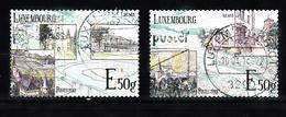Luxemburg 2013 Mi Nr 1981 + 1982 Moezel - Gebruikt