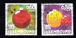 Luxemburg 2013 Mi Nr 1996 + 1997 Christmas - Gebruikt