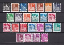 US & Britische Zone - 1948/52 - Michel Nr. 73/96 - Postfrisch - Bizone