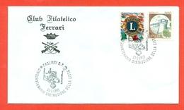 LIONS CLUB - MARCOFILIA - CAGLIARI 1993 - Francobolli