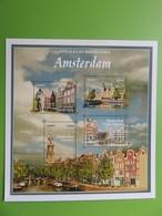PAP - Carte Postale Pré-timbrée - Timbre International Le Béguinage - Amsterdam Capitale Européenne - Série Capitales - Documents Of Postal Services