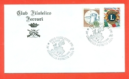 LIONS CLUB - MARCOFILIA - FIUGGI FONTE 1993 - Francobolli