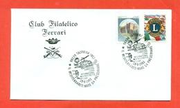 LIONS CLUB - MARCOFILIA - TAORMINA  1993 - Francobolli