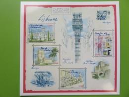 PAP - Carte Postale Pré-timbrée - Timbre International - Lisbonne Capitale Européenne - Série Capitales - Neuf - Documents Of Postal Services