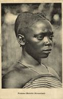 Cpa CONGO BELGE - Femme Makele (Aruwimi), Circulée 1911 KINSHASA - Congo Belga - Otros