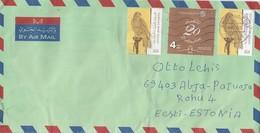 GOOD UAE Postal Cover To ESTONIA 2019 - Good Stamped: Birds ; Distinction 20 - United Arab Emirates (General)