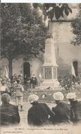 CPA 39 - PUY DE DOME -  LE BROC Inauguration Du Monument Le 29 Mai 1921  - Animations - France