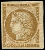* EMISSION DE 1849 - 1a   10c. Bistre-brun, TB - 1849-1850 Cérès