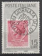 Italia 1959: Giornata Del Francobollo - MNH ** - 1946-60: Nuovi