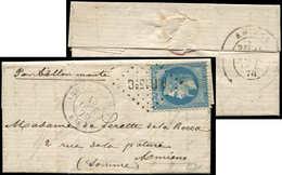 Let BALLONS MONTES - N°29B Obl. Los. A.R.13e.C S. LAC, Càd ARMEE DU RHIN Bau AL 13/10/70, Arr. AMIENS 15/10, Superbe. LE - Marcophilie (Lettres)