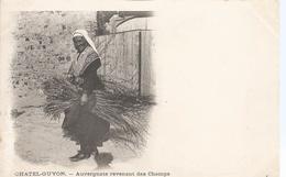 CPA 30 - PUY DE DOME -  CHATELGUYON  Auvergnate Revenant Des Champs  - Animations - France