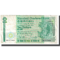 Billet, Hong Kong, 10 Dollars, 1987, 1987-01-01, KM:278b, TB - Hong Kong