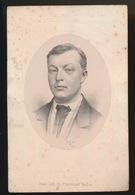 LITHO  VAN LOO == PIERRE CRIEL - DOORNZELE DRIES  DECEDE 27 JUIN 1879  L'AGE 38 ANS   - 2 AFBEELDINGEN - Obituary Notices