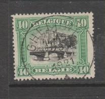COB 143 Oblitération Centrale GHELUWE - 1915-1920 Albert I