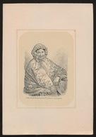LITHO  VAN DER POORTEN = MARIA DE CLERCQ - ST.DENIJS BOUCLE 1788 - OUDENAERDE 1864  - 2 AFBEELDINGEN - Obituary Notices