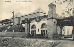 Pays Div- Ref T683- Allemagne - Hambourg - Hamburg - Hochbanstation Sierichstrabe - - Non Classés