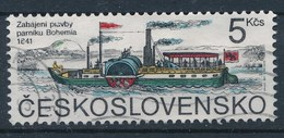 """Tschechoslowakei 1991 Mi. 3079 Gest. Schiff Raddampfer """"Bohemia"""" - Tschechoslowakei/CSSR"""