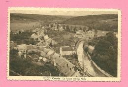 C.P.  Couvin = La  Falaise  Et  L' Eau Noire - Couvin