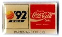 C66 - EXPO SEVILLE'92 - LOGO - Sponsor COCA COLA - Verso : C SE EXPO'92 / S.A. 1989 - Coca-Cola