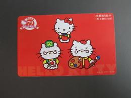 Internet Prepaid Card,Hello Kitty, Sample Card - Taiwan (Formosa)