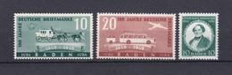 Baden - 1949 - Michel Nr. 53+54/55 - Postfrisch - 17,5 Euro - Französische Zone