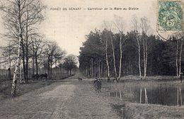 3162 Cpa Forêt De Sénart - Carrefour De La Mare Au Diable - Sénart