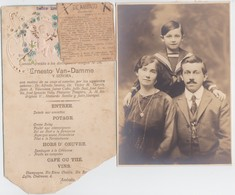ECUADOR-ARCHIVE-LOT+-84 ORIGINAL PHOTOS-ERNESTO VAN DAMME-BELGIAN CONSUL+-1915-QUITO+. ALL PHOTOS ARE SCANNED+IDENTIFIED - Lieux