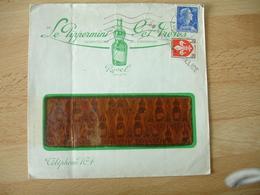 Revel Pipperint Get Freres  Enveloppe Commerciale - 1900 – 1949