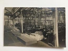 Photo Foto AK Fabrique Munitions Munition Granats Granaten - Guerra 1914-18