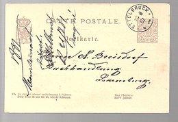 1881 ETELBRUCK > Buchhandlung Breisdorf (547) - Entiers Postaux