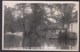 CPA 86 -  LA TRIMOUILLE, L'Ecluse, Carte Photo 1949 - La Trimouille