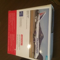 HERPA 1:500 BOEING 747 TRANSAERO - Modelbouw