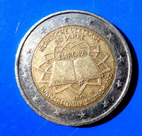 GERMANY -  D - COIN. 2 Euro. ROME - EUROPA 2007 CIRCULATED  COIN 2 - Allemagne