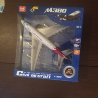 AIRCRAFT AIRBUS 380 - Modelbouw