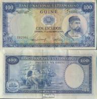 Portugisisch Guinea Pick-Nr: 45a Bankfrisch 1971 100 Escudos - Guinea