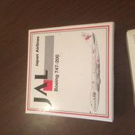 SCABAK BOEING 747 JAPAN AIRLINES - Zonder Classificatie