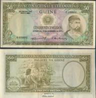 Portugisisch Guinea Pick-Nr: 44a Bankfrisch 1971 50 Escudos - Guinea