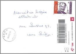 Cob  3204 Albert II Sur Lettre Recommandé  GEER - Belgique