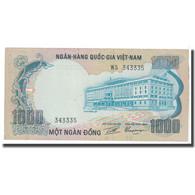 Billet, South Viet Nam, 1000 D<ox>ng, KM:34a, TTB+ - Vietnam