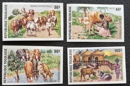 TOGO 1974 Domestic Animals  IMPERF. - Togo (1960-...)