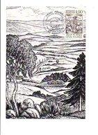CARTE MAXIMUM 1987 HENRI POURRAT GASPARD DES MONTAGNES - 1970-79