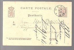 1881 CAP To Breisdorf (551) - Entiers Postaux