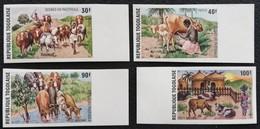 TOGO 1974 Domestic Animals  IMPERF. With Margin - Togo (1960-...)