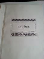 Lot N° 615 ALGERIE Collection Sur Page D'album Neufs* 50 % De Timbre Collés .DERNIERE VENTE, Fermé Du 4 Juill Au 19 Aout - Collections (en Albums)