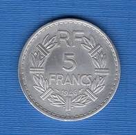 5  Fr  Allu  1946 Cttb   Sup - France